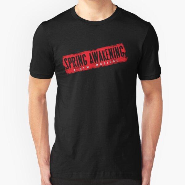 Spring Awakening Logo 1 Slim Fit T-Shirt