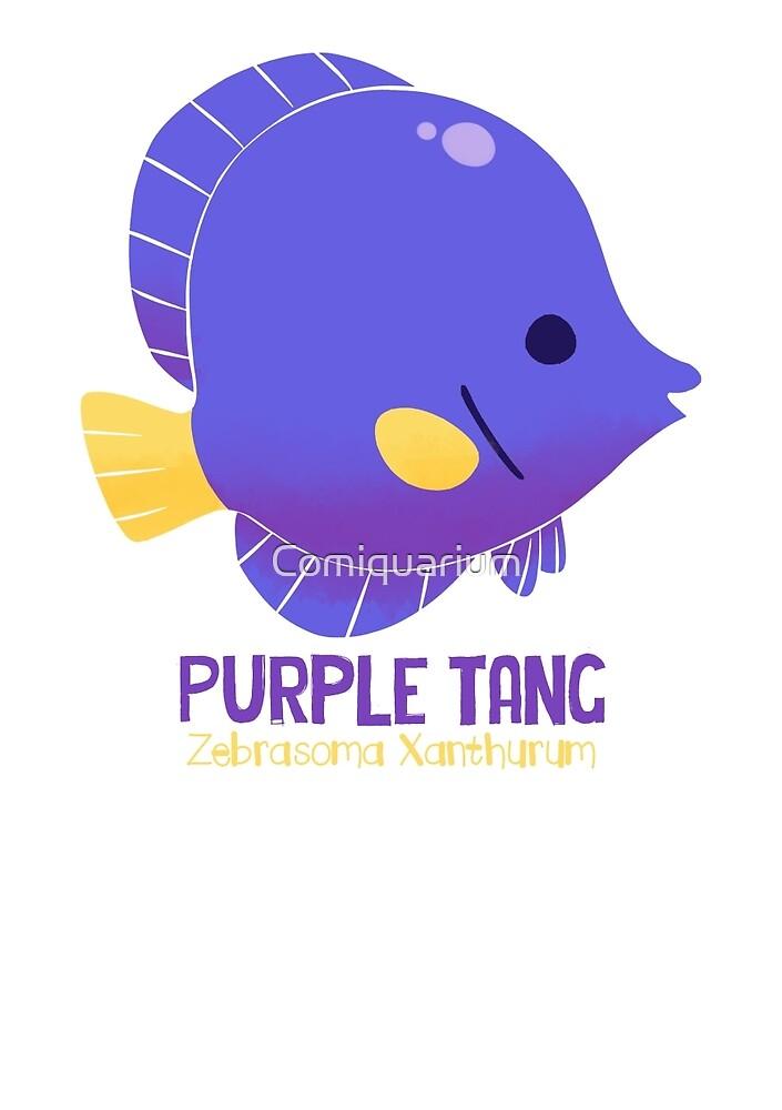 Purple Tang by Comiquarium