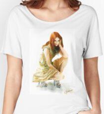 Karen Gillan Women's Relaxed Fit T-Shirt