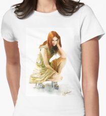 Karen Gillan Women's Fitted T-Shirt