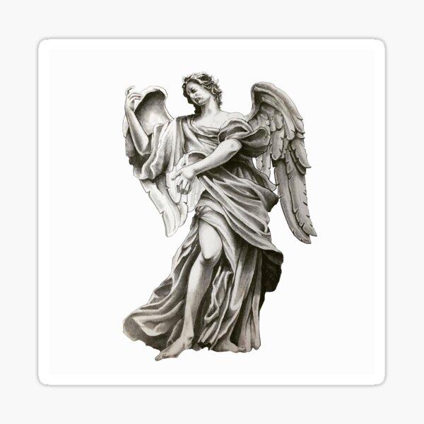 Playing angel Sticker