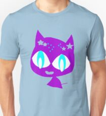 Purple kitten Unisex T-Shirt