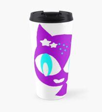 Purple kitten Travel Mug