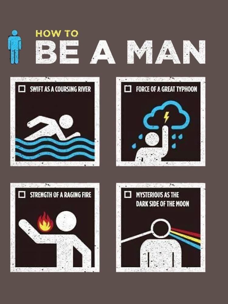 be a man by malaga