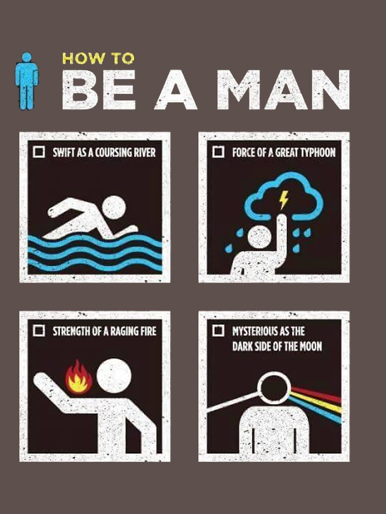 being a man a guide to the new masculinity