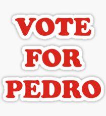 Napoleon Dynamite - Vote For Pedro Sticker