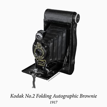 Kodak No.2 Folding Autographic Brownie by danielemarcello