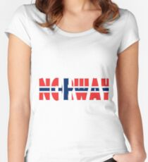 Norway Women's Fitted Scoop T-Shirt