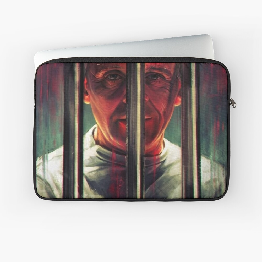 Hannibal Lecter Laptop Sleeve