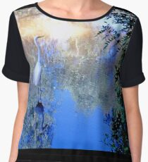 The water bird Women's Chiffon Top
