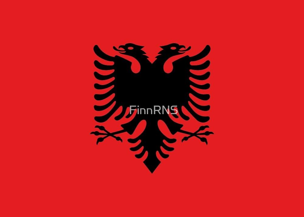 Albania Flag by FinnRNS