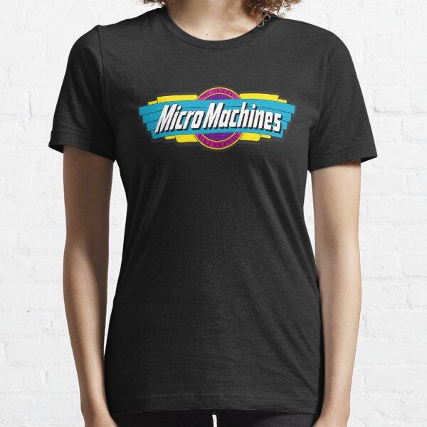 le logo Micro Machines du jeu vidéo des années 80/90 sur Nintendo et Sega est le nec plus ultra du badass.  Si vous aimez ce design T-shirt essentiel