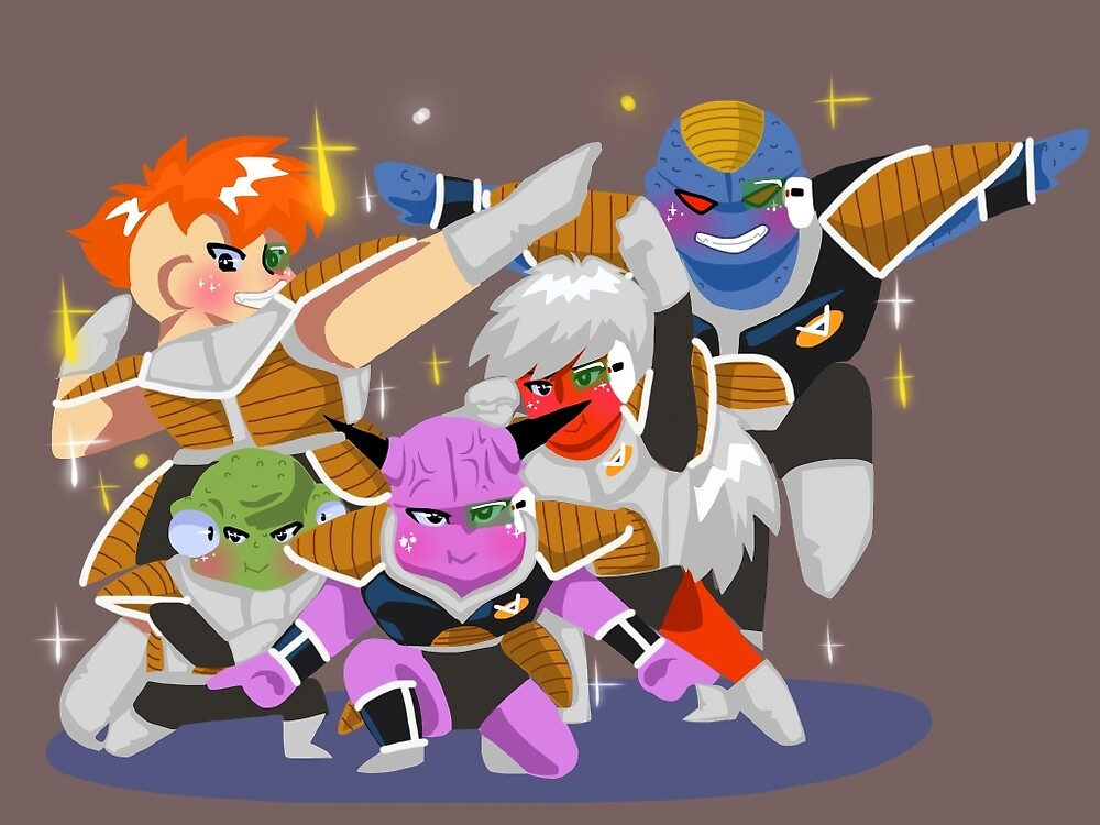 The Ginyu Force by riptide59
