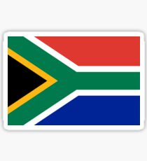 South African Springboks Flag Sticker