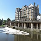 Empire Hotel Bath by CreativeEm