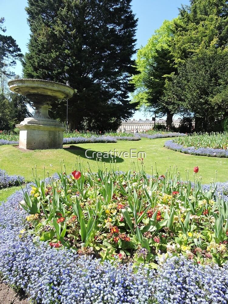 Royal Avenue Gardens, Bath by CreativeEm