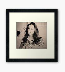 Blair Waldorf  Framed Print