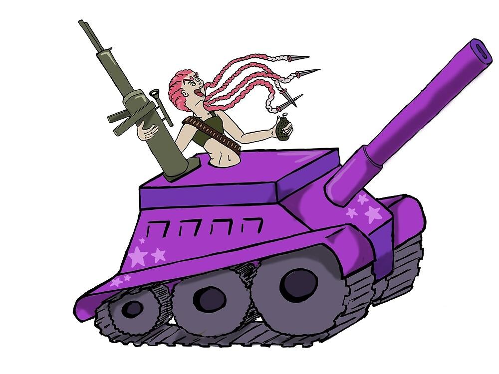 Centaur Tank by ClareAgrippina