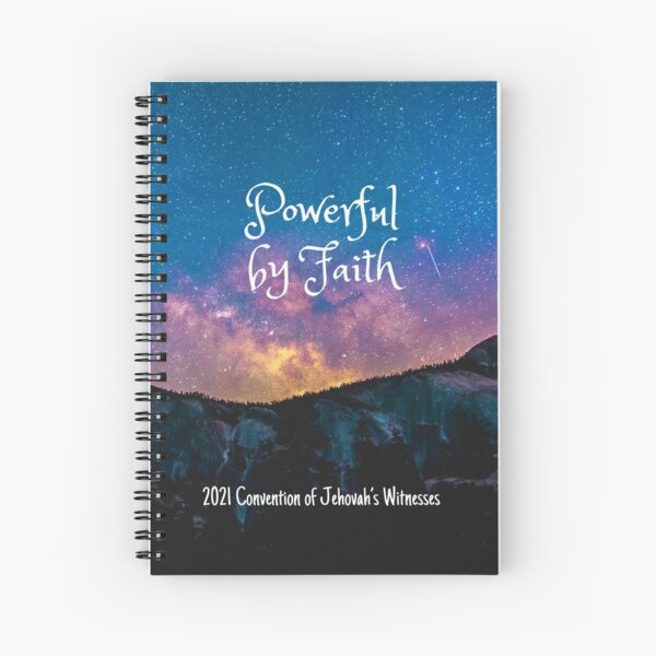 Powerful by Faith Spiral Notebook