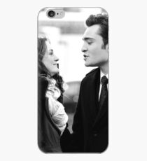 Blair and Chuck Black & White.  iPhone Case
