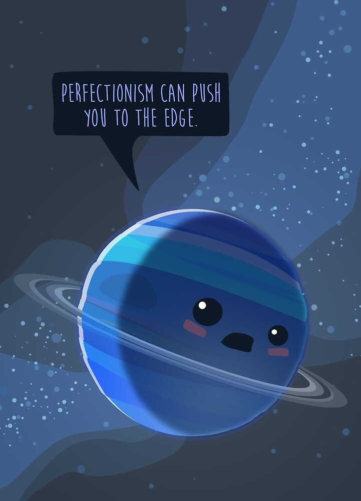 Perfectionism can push you to the edge von Daniela  Illing