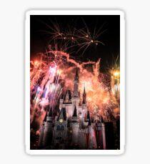 Magical Kingdom Explodes  Sticker