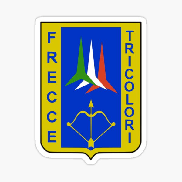 Frecce Tricolori - Italian Air Force Sticker