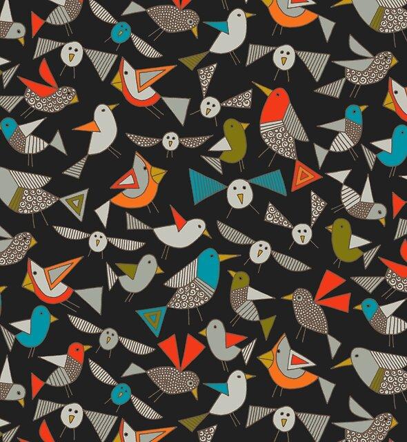 just birds dark by Sharon Turner