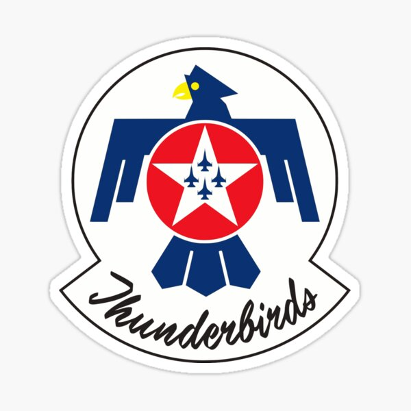 United States Air Force Thunderbirds Sticker
