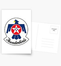 United States Air Force Thunderbirds Postcards