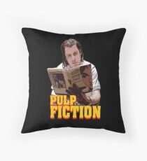 Vincent Vega Throw Pillow