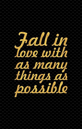 Fall in love... Inspirational Quote by Powerofwordss