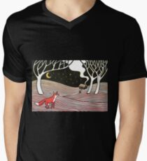 Stargazing - Fox in the Night T-Shirt