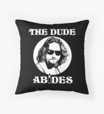 The Dude Abides - The Big Lebowski Throw Pillow