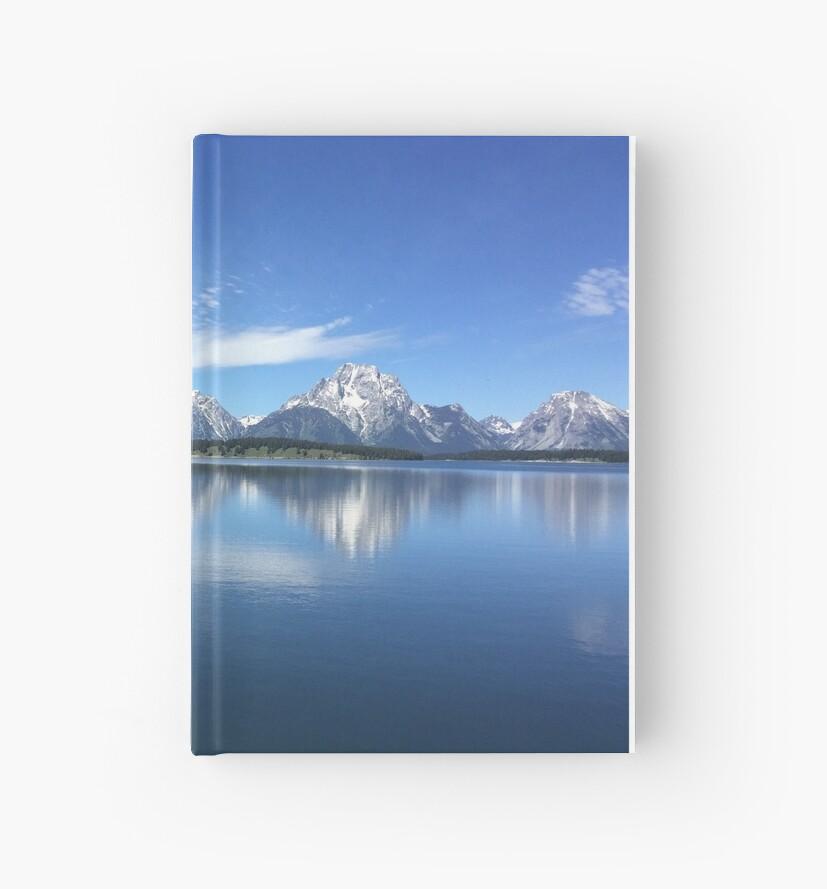 Grand Teton Range and Lake by jeromelee
