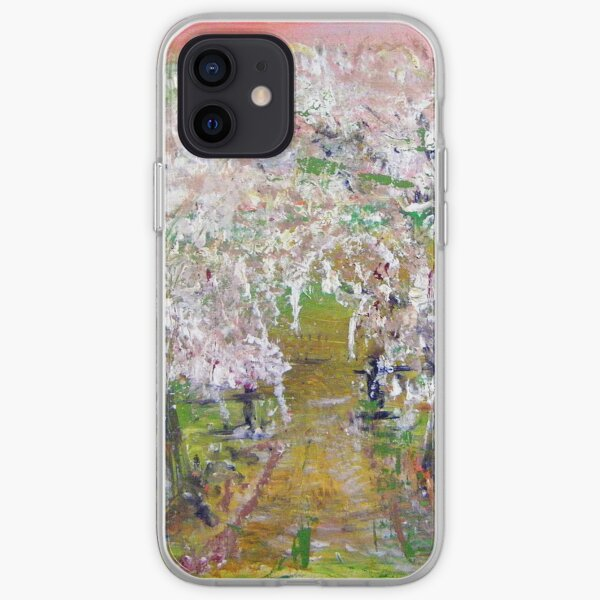 White Delight iPhone Soft Case