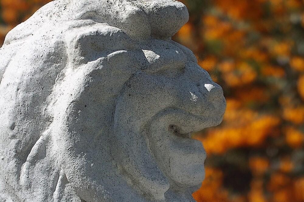 Stone Lion by BrainwaveArt