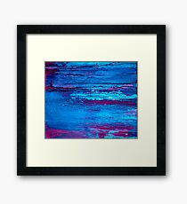Abstract Marine Framed Print