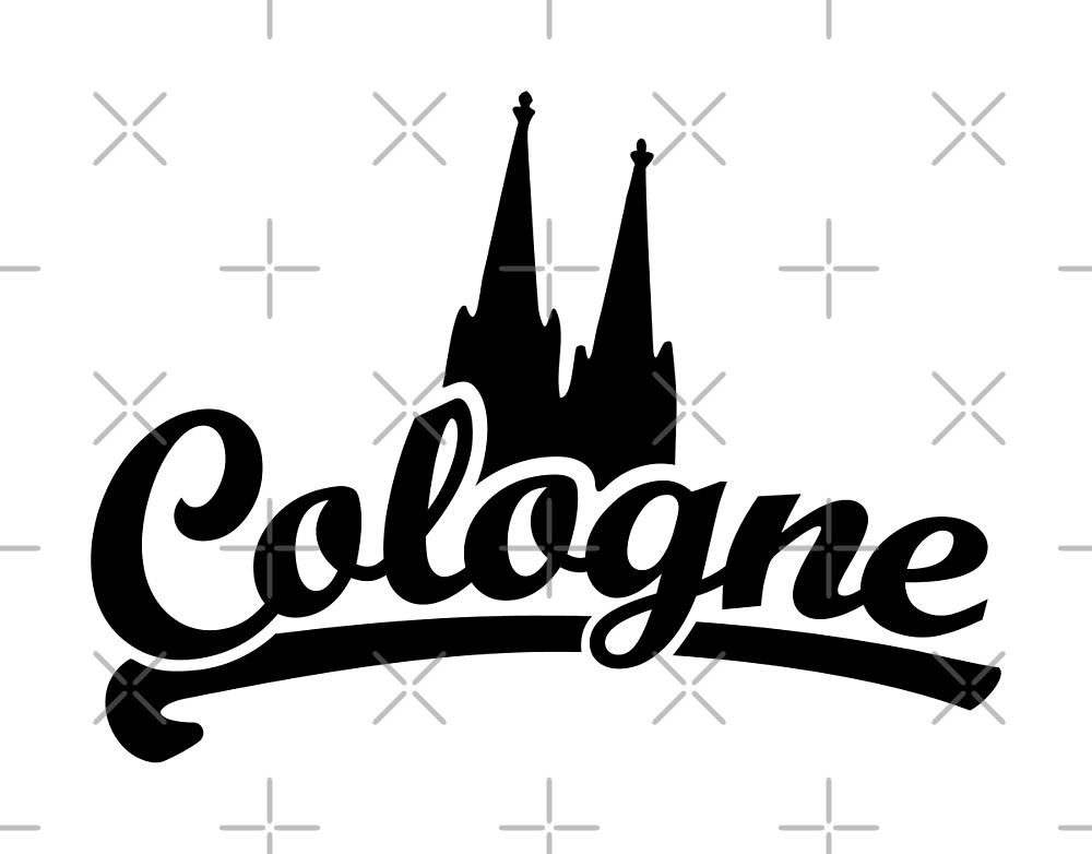 Cologne Classic with Cologne Cathedral Black by theshirtshops