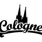Cologne Classic mit Kölner Dom Schwarz von theshirtshops