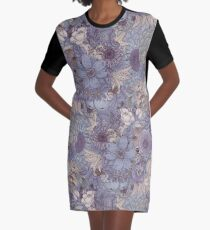 The Wild Side - Lavender Ice Graphic T-Shirt Dress
