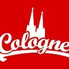 Cologne Classic mit Kölner Dom (Weiß) von theshirtshops