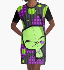 Happy Gir from Invader Zim fanart Graphic T-Shirt Dress