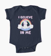 Cute Unicorn I Believe In Me T Shirt Kids Clothes
