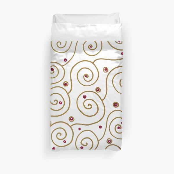 golden spiral Duvet Cover