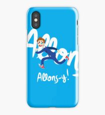 Allons-y! (full colour) iPhone Case