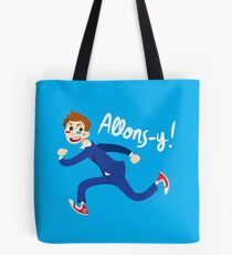 Allons-y! (full colour) Tote Bag