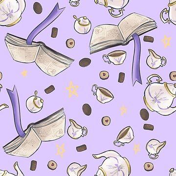 Tea and Spellbooks Repeat by SweetIngenuity