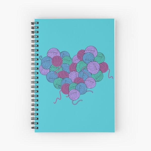Yarn Heart Spiral Notebook
