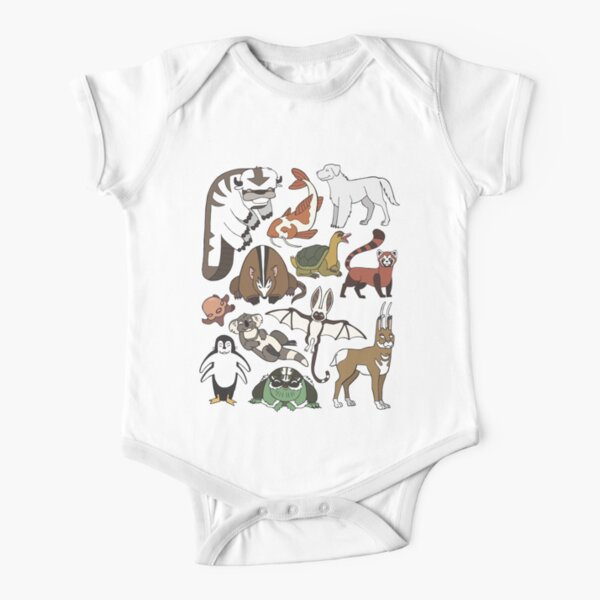 Avatar Menagerie Short Sleeve Baby One-Piece